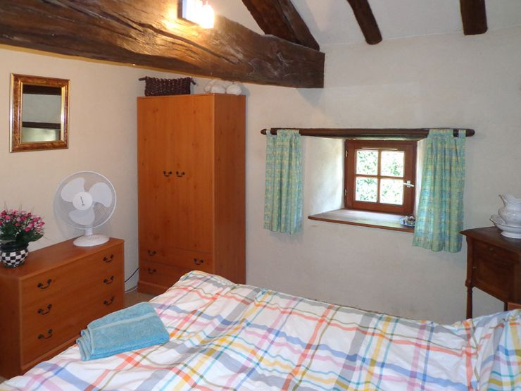 Bedroom at Le Grenier